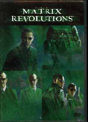 MATRIX REVOLUTIONS(DVD)(DL-33209)