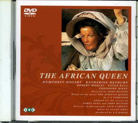 THE AFRICAN QUEEN キャサリン・ヘプバーン(DVD)(IVCF-438)