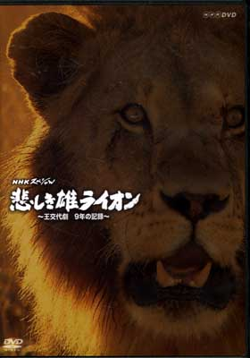 NHKスペシャル悲しき雄ライオン〜王交代劇9年の記録〜(DVD)(KMNH-00001)
