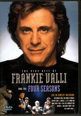 THE VERY BEST OF FRANKIE VALLI AND THE FOUR SEASONS(DVD)