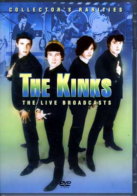 THE KINKS THE LIVE BROADCASTS(DVD)(CRP2125)