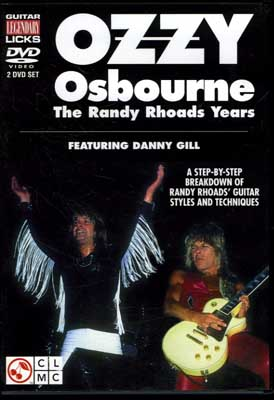 OZZY Osbourne The Randy Rhoads Years(DVD)()
