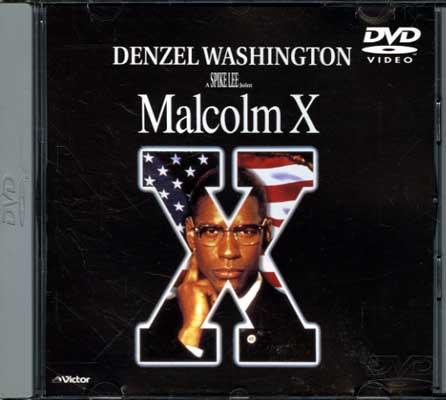 Malcolm X DENZEL WASHINGTON(DVD)(JVBF-47025)