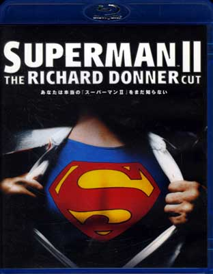 SUPERMAN II THE RICHARD DONNER CUT(Blu-ray)(WBA-Y13104)